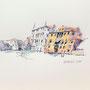 Venedig Canale Grande 2 30 x 24 Tusche Aquarell a.Papier 2015 Z228