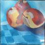 Früchte Acryl auf Leinwand 80-80 2011 LS063