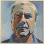 Peter W. 80x80 Acryl auf Leinwand 2012 K017