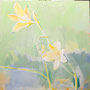 Blüten 80 x80 Acryl auf Leinwand 2015-01 LS 038
