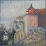 Meersburg 28-28 Pastell auf Papier 2011 LS059