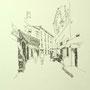 Gardasee 2012 1 24x24 Tusche auf Papier 2014 Z195