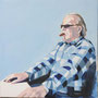 Helmut 80-80 Acryl auf Leinwand 2011 K011