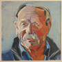 Edgar P.. 80x80 Acryl auf Leinwand 2011 K023