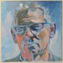 Georg K. 80x80 Acryl auf Leinwand 2012 K018