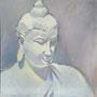 Statue_50-50_Acryl auf Platte_2012-01 K012