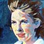 Christa B. 80 x 60 Acryl auf Malplatte 2011 K013