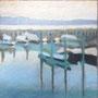 Im Hafen 30-30 Pastell auf Papier 2011 LS050 PB