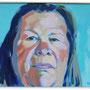 Ursel S. 70 x 60 Acryl auf Platte 2012-06 K032