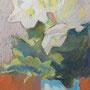 Weiss 30 x 40 Pastell auf Papier 2011 LS002