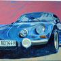 Alpine A110 100 x 80 Acryl auf Leinwand 2013-05 A028
