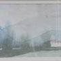 Landschaft 30x22 Aquarell auf Papier 1990 LS037