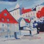 Meersburg Acryl auf Platte_2011 LS067
