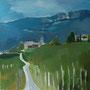 Südtirol Acryl auf Leinwand 80-80 2010 LS052