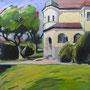 Villa in B. 120-100 Acryl auf Leinwand 2012-09 LS009
