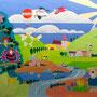 Felixland 150x100 Acryl auf Leinwand 2015-02 LS 039