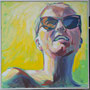 Elisabeth 100x100 Acryl auf Leinwand 2012-11 K031
