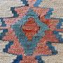 tappeti tabriz carpet Udine- tappeto kilim dopo di riparazione buco trieste