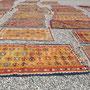 pulizia tappeto Trieste- fase 5: l'asciugatura dei tappeti viene eseguita esponendo il tappeto sotto al sole in maniera che il calore e la luce solare ellimini i lievi odori che può avere un tappeto lavato