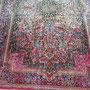 smacchiatura tappeto trieste- quando tappeto si lava da uno persona meno esperto, sbavato colori. cliente mi ha portato questo kirman lavato a casa e rovinato colori.
