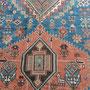 Trieste, Tappeto antico Caucasico Shirwan dopo di restauro, Tabriz carpet Udine