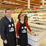 Les Eleveurs de Bretagne dans le magasin E. Leclerc de Guilers