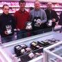 Les Eleveurs de Bretagne dans le magasin E. Leclerc de Saint-Brandan
