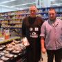 Les Eleveurs de Bretagne dans le magasin E. Leclerc de Quimper