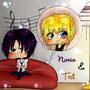 Sweet Norio und Tedd Chibis von TheJenno92