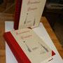Leineneinband mit Buchschuber
