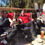 Erholung vom harten Skivormittag...