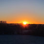 Letzte Sonne im November