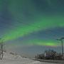 Februar 2012 - rote Nordlichter sind äußerst selten