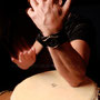 Willy Salcedo, percusionista.