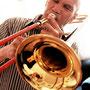 """""""El Pantera"""", trombonista y compositor."""