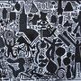 Schwarz/ Weißmalerei zu A.R.Penck, Klasse 4-6