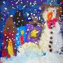 Schneemänner bei Nacht, Klasse 1-3