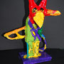 Feuervogel nach Niki de Saint Phalle, Klasse 5