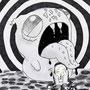 Der Schrei nach Edvard Munch, Klasse 6, 2017