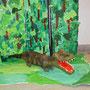 Dschungeltiere nach Henri Rousseau, Klasse 5