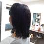トップピース カットスタイリング込 ¥39800税別)