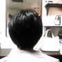 ショートスタイル¥15000  スタイリング¥1500(税別)