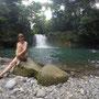Wanderung zum Wasserfall mit Schwimmbecken in Virgen