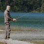 Dani beim Fischen
