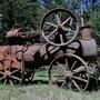 Alte Dampfmaschine für die Farmarbeit
