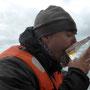Whiskey aus dem Gletscherglas