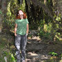 Ehrfürchtiger Alerce-Wald