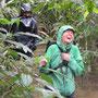 Marsch durchs Hochwasser - hoffentlich ohne Anaconda