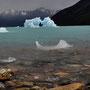Erste Eisschollen in Sicht
