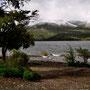 Lago Lolog, frisch verschneit
